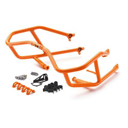 KTM -  Orange(EB) Engine Guards - 1090 Adventure R 17-19, 1290 Super Adventure S 17-19