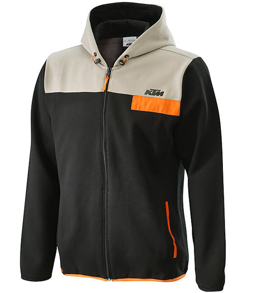 KTM - Pure Men Full-Zip Hoodie