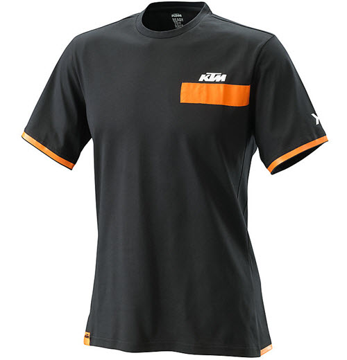 KTM PURE MEN T-SHIRT BLACK