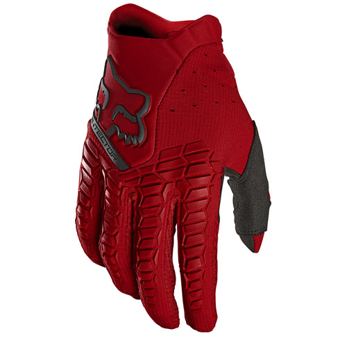 Fox - Pawtector Red Adult Gloves
