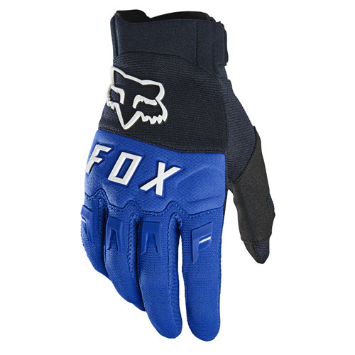 FOX DIRTPAW BLUE GLOVES 25796-002