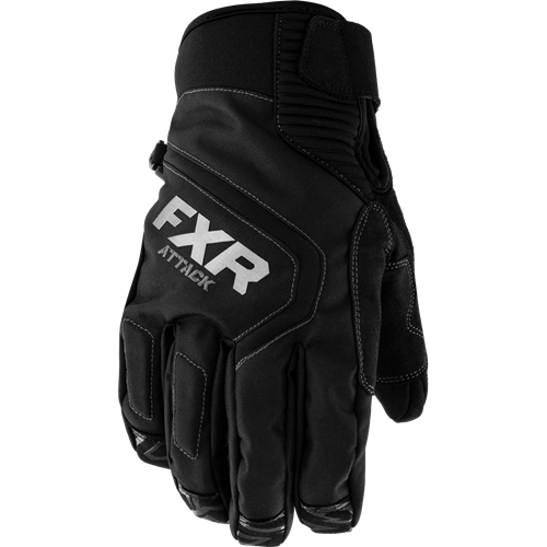 FXR - Attack Lite Black Adult Glove