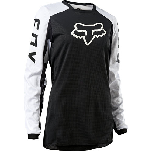 Fox - 180 Djet Black/White Women Jersey